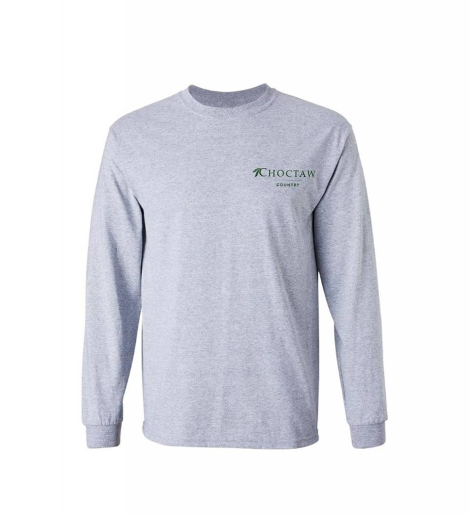 """The Great Outdoors"" Long Sleeve Tees ADULT"