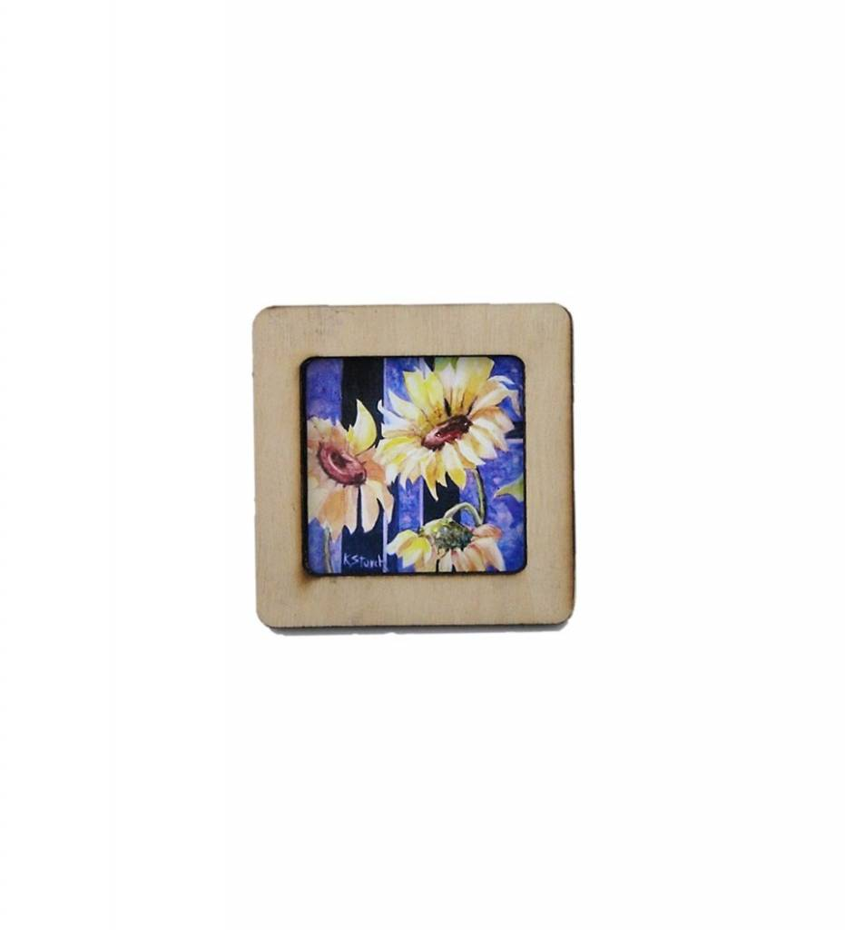 """*KS """"Common Sunflower"""" MAGNET"""