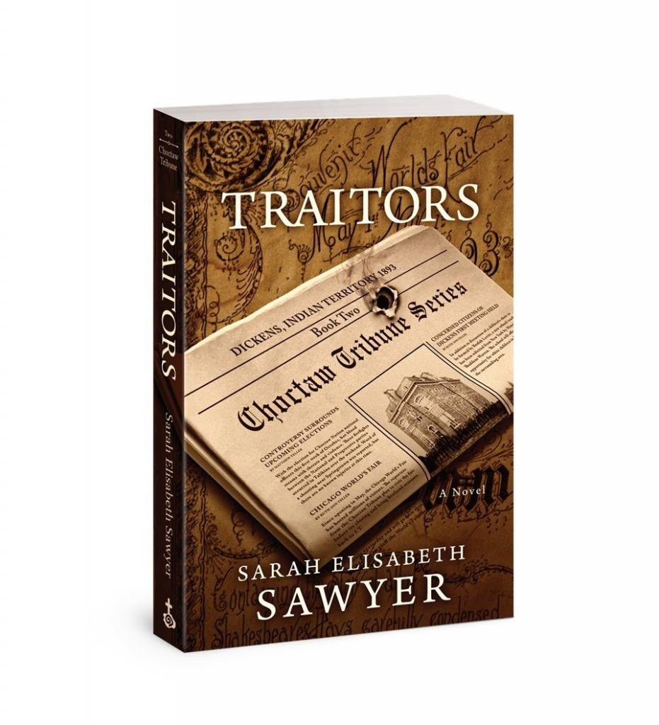 "*SES ""Traitors"" (Choctaw Tribune Series, Book 2) by Sarah Elisabeth Sawyer - Paperback 2016"