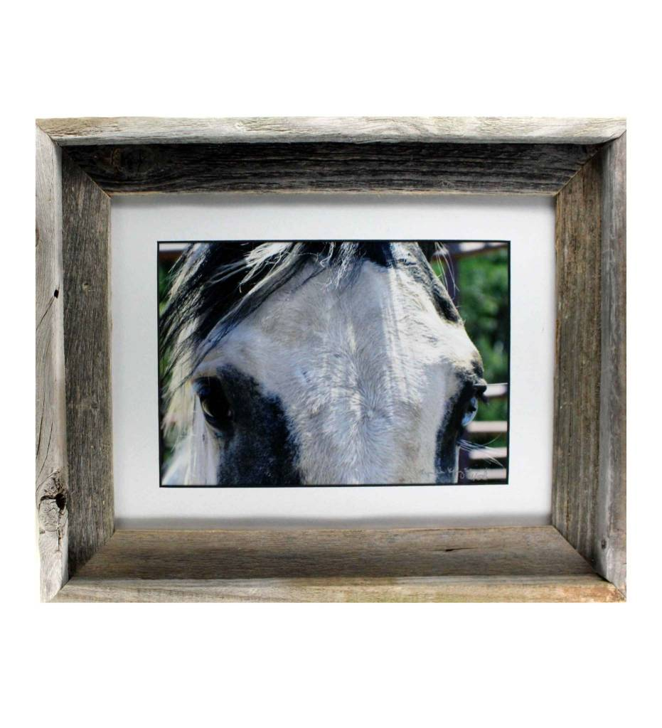 "*LS ""Nishkin Okchakko (Blue Eye)"" Framed Matted Print LIMITED EDITION"