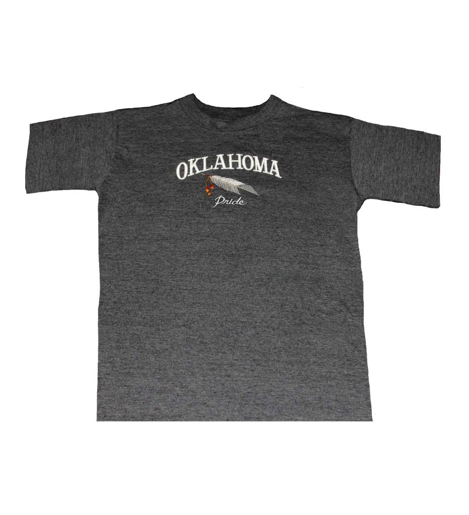 """OKLAHOMA Pride"" Embroidered T-Shirt 2X"