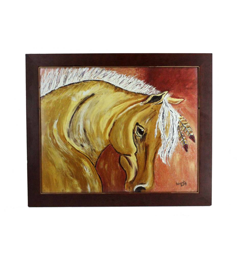 """*DS """"Going Home"""" PRINT In Wood Frame 16"""" X 20"""""""