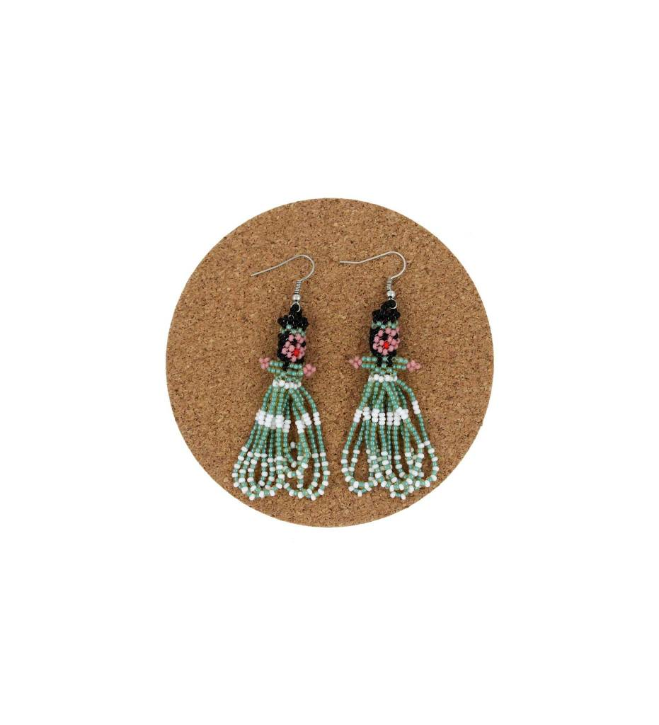 CM Beaded Doll Earrings