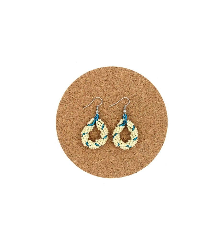 CM Assorted Beaded Loop Earrings