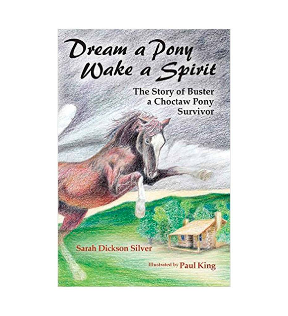*SDS Dream a Pony, Wake a Spirit: The Story of Buster, a Choctaw Pony Survivor - Paperback – September 15, 2015 by Sarah Dickson Silver (Author)