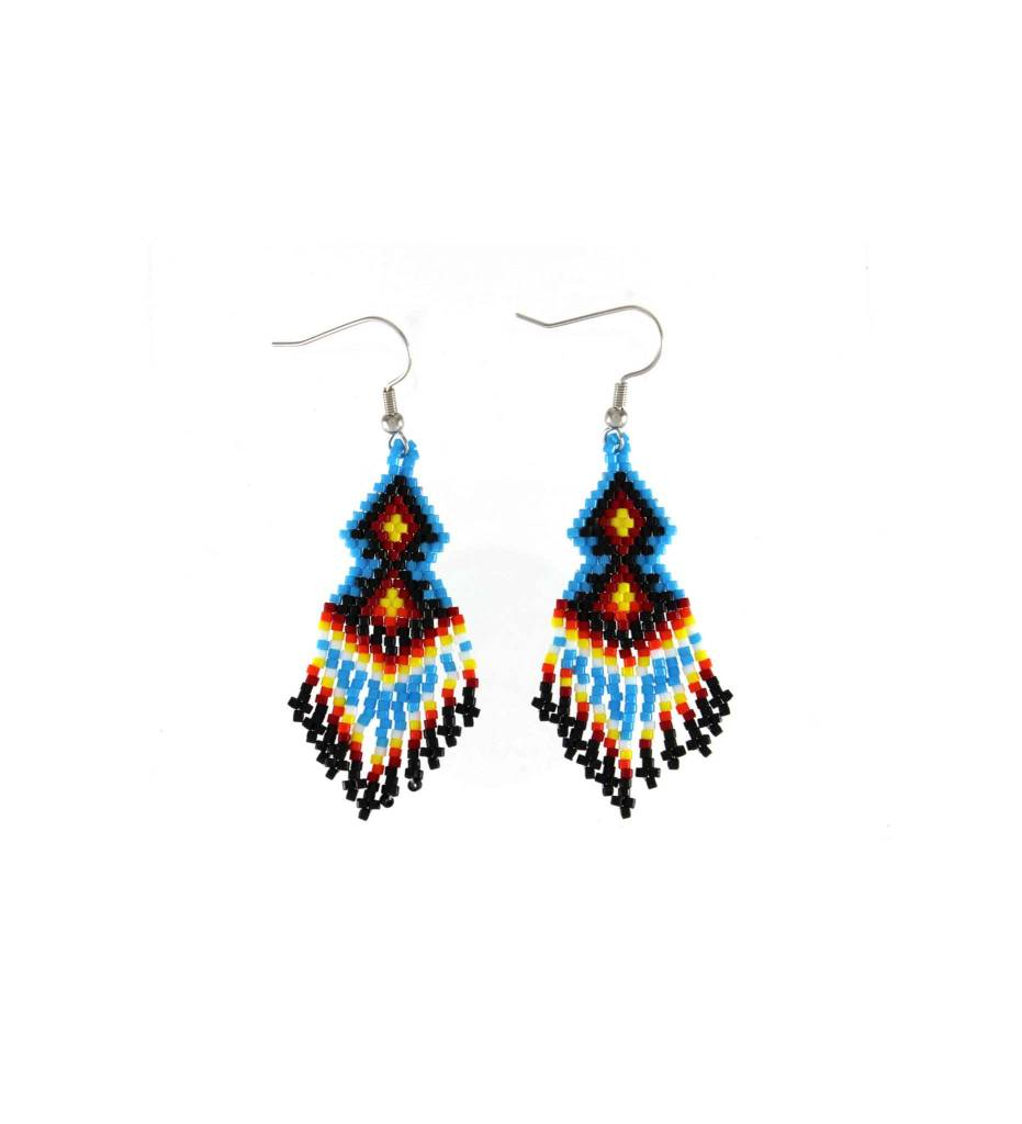 *TC Variety Color Beaded Earrings