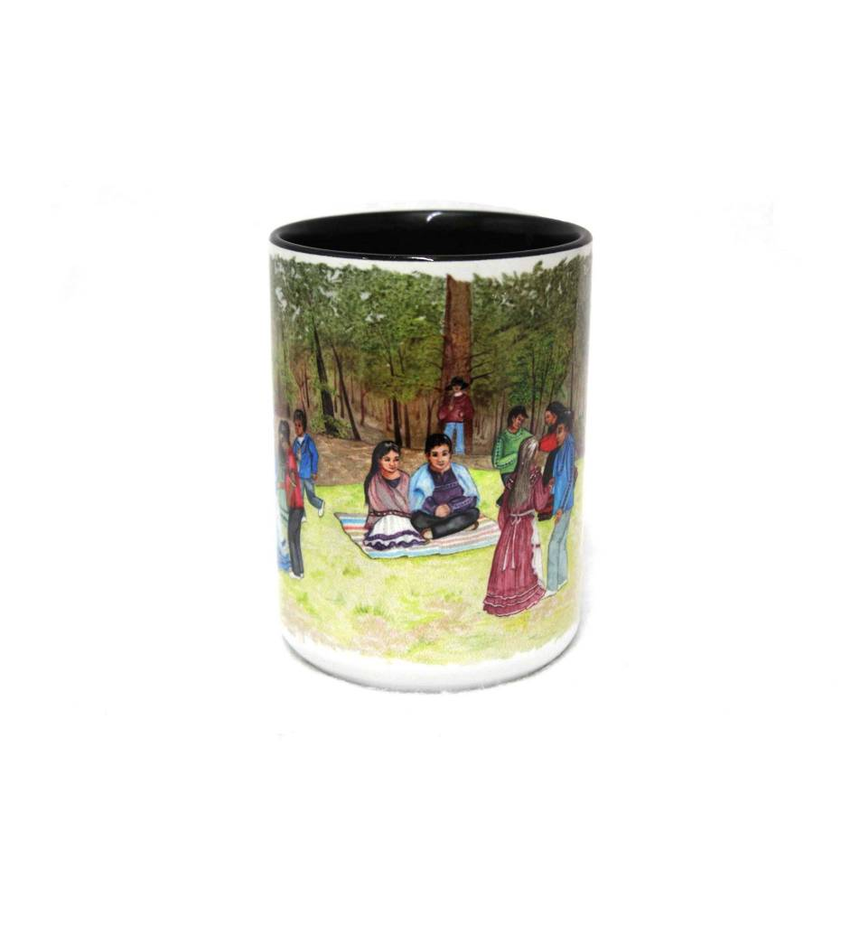 """CA """"A Choctaw Wedding"""" Coffee Mug"""