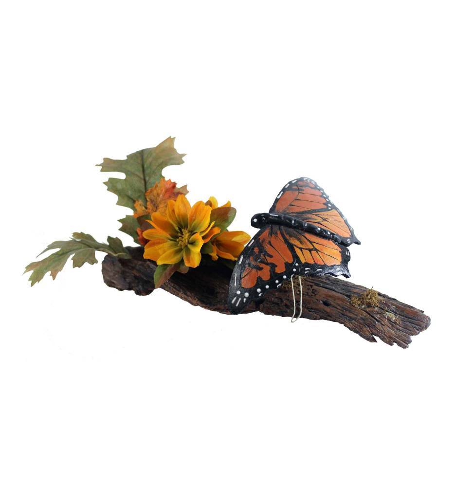 *KB Butterfly Gourd on Branch & Flowers