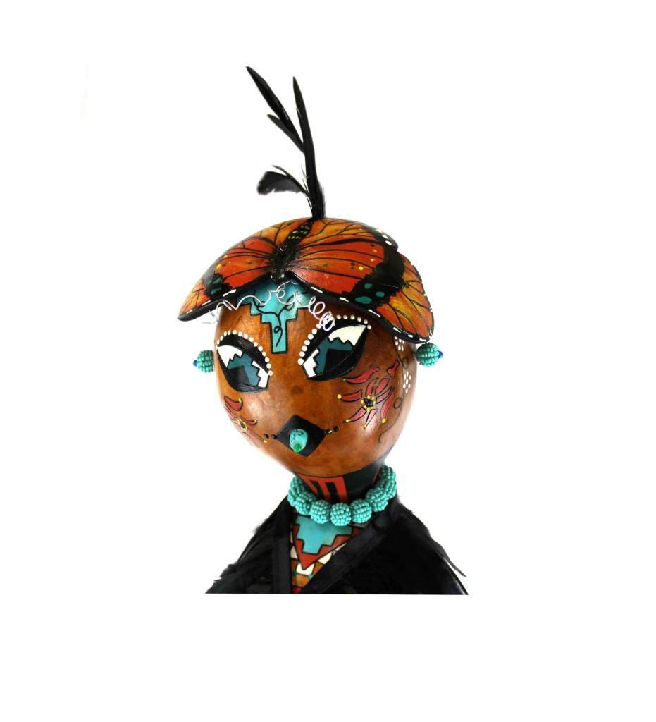 *KB Gourd Butterfly Maiden