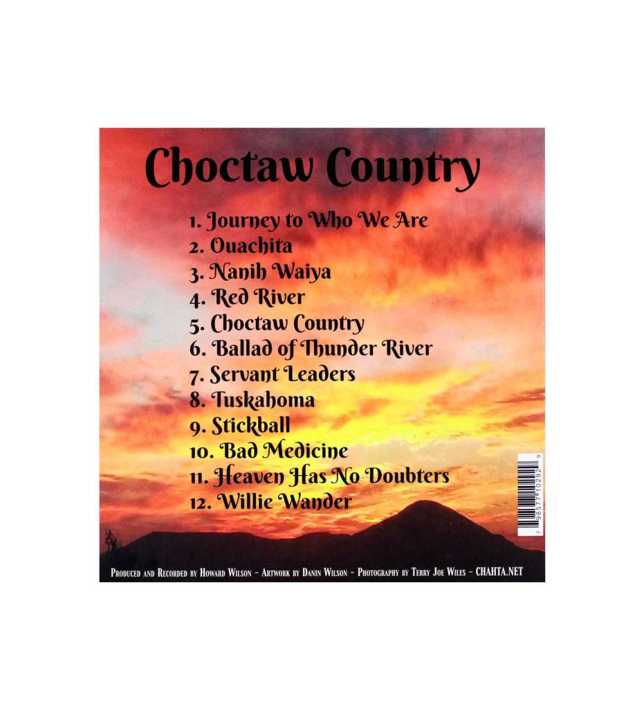 "*HW ""Choctaw Country"" CD"