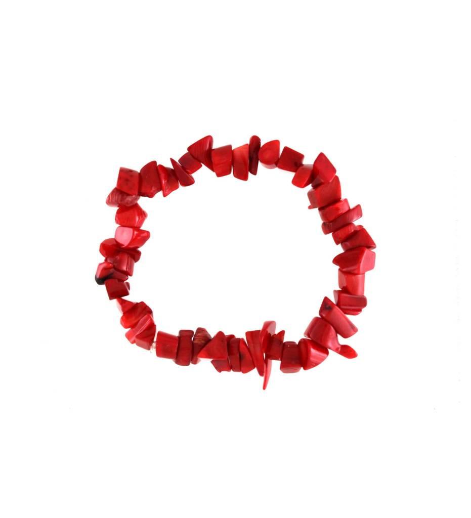 *GJ Red Stone Bracelet
