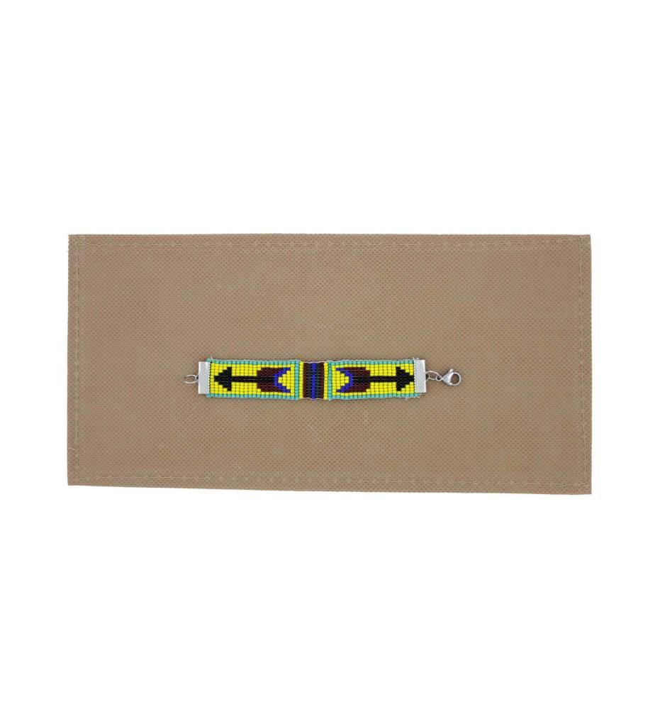 *BG Youth Arrow Design Beaded Bracelet