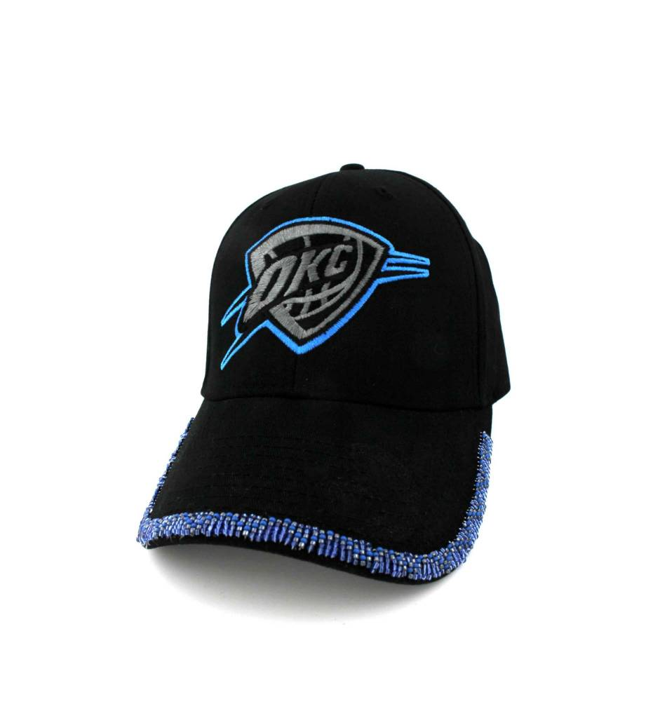 SL OKC Cap Blue Beaded Rim