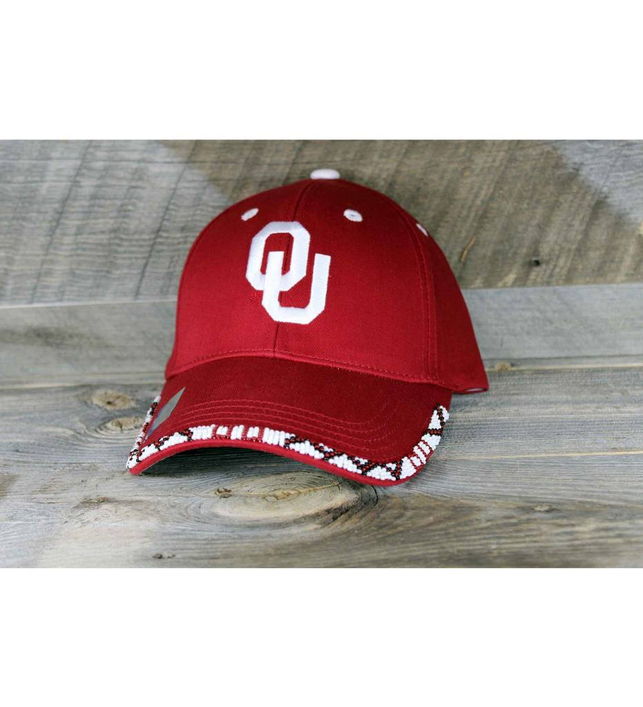 SL OKLAHOMA Multi Color Beaded Cap