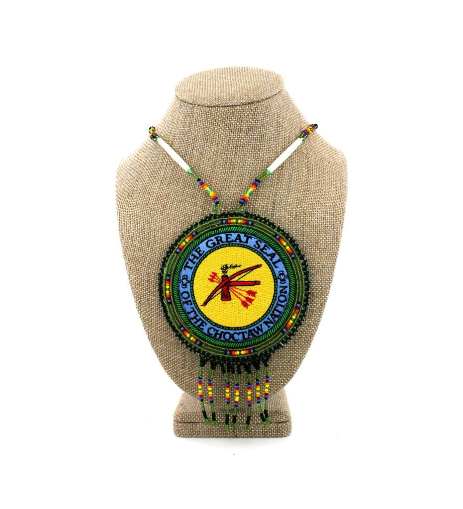 "SL ""CNO SEAL"" Medallion Necklace"