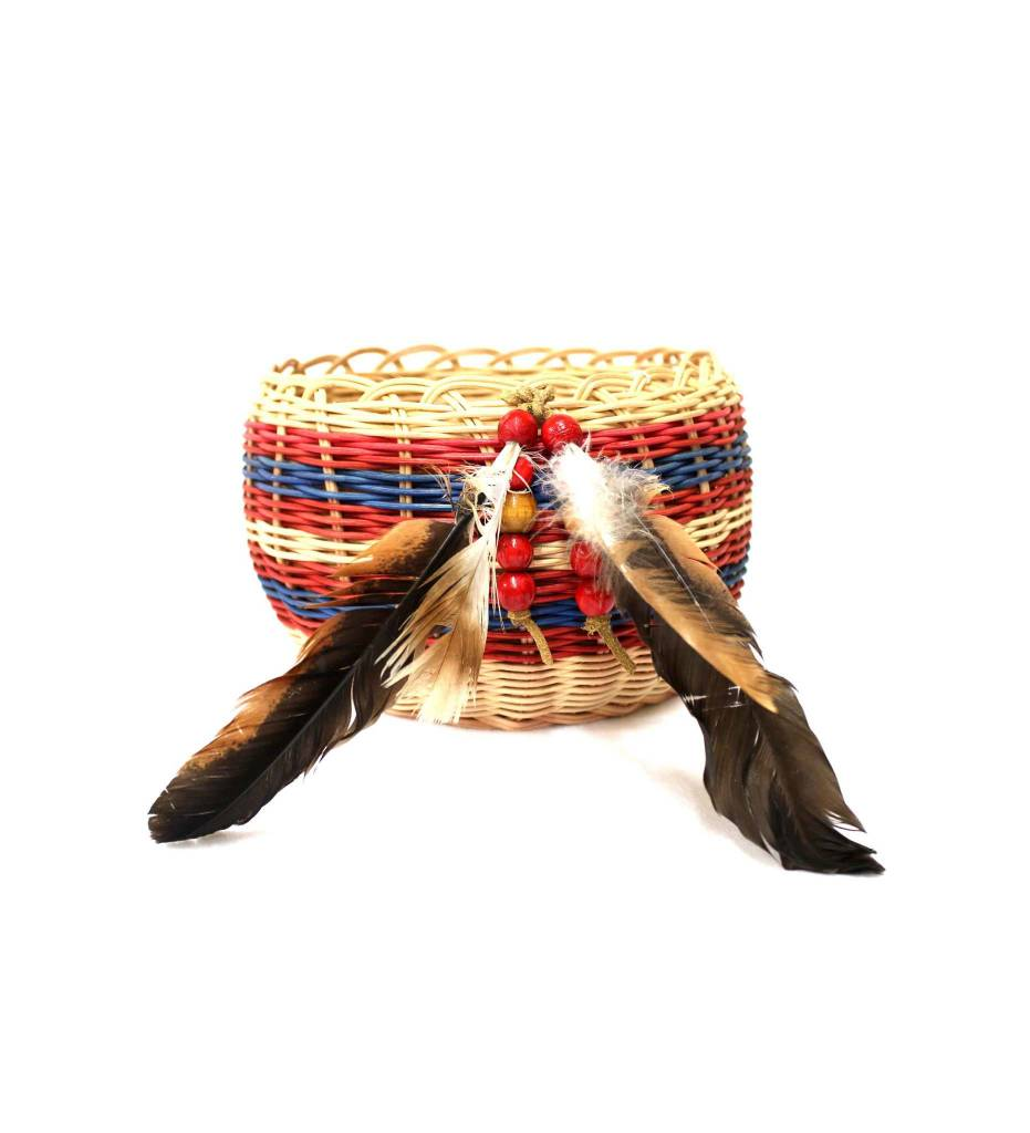 *LA #4051 Large Double Walled Western Cherokee Basket