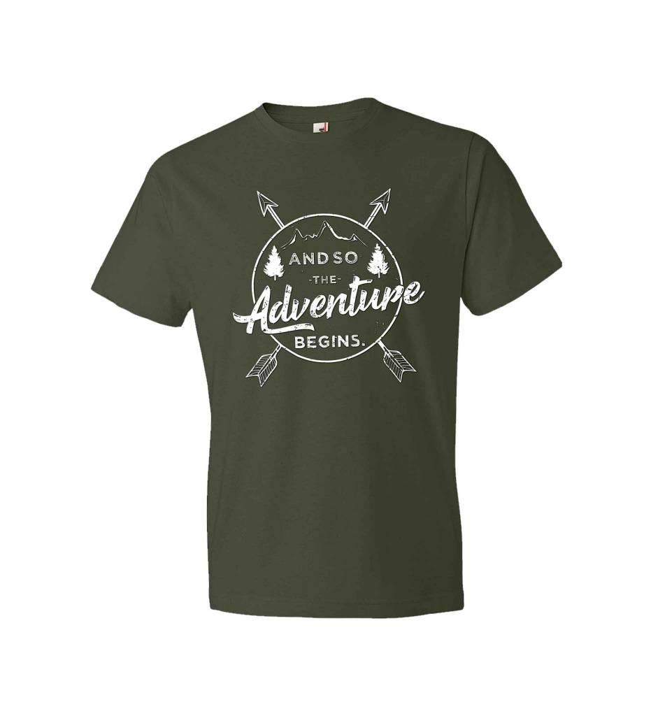 """""""Adventure BEGINS"""" Tee"""
