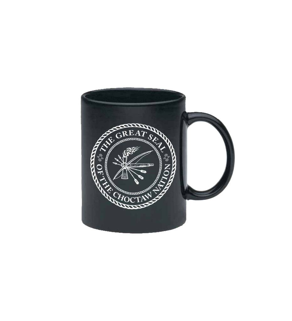 Black CNO Seal Mug