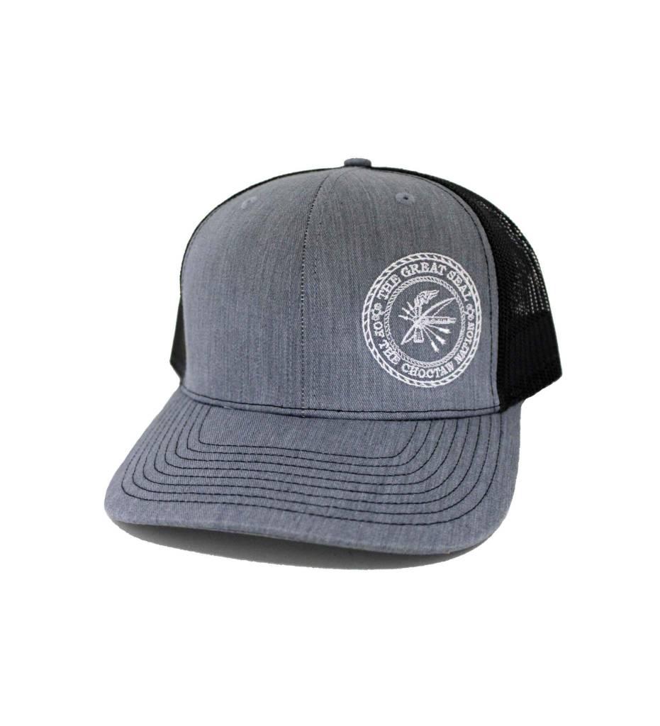 "Choctaw ""SEAL"" Cap Gray & Black"