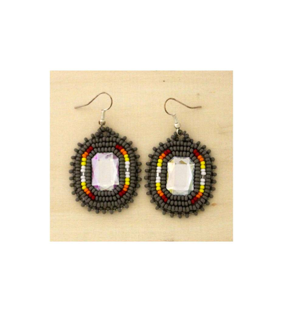 SJ Multi Colored Earrings