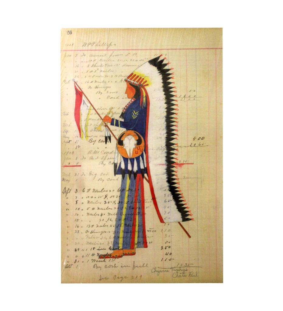 "PH Ledger Art Print, ""Cheyenne Trophies"""