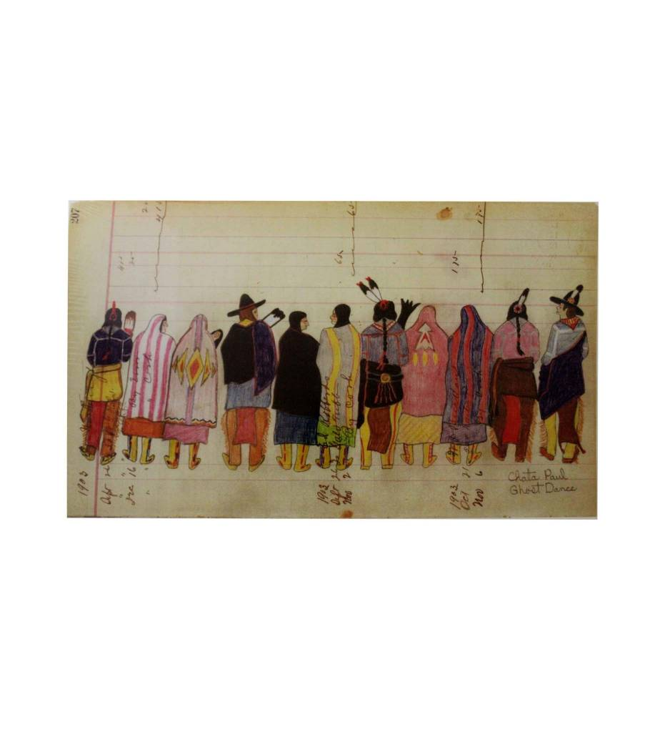 "PH Ledger Art Print, ""Ghost Dance"""