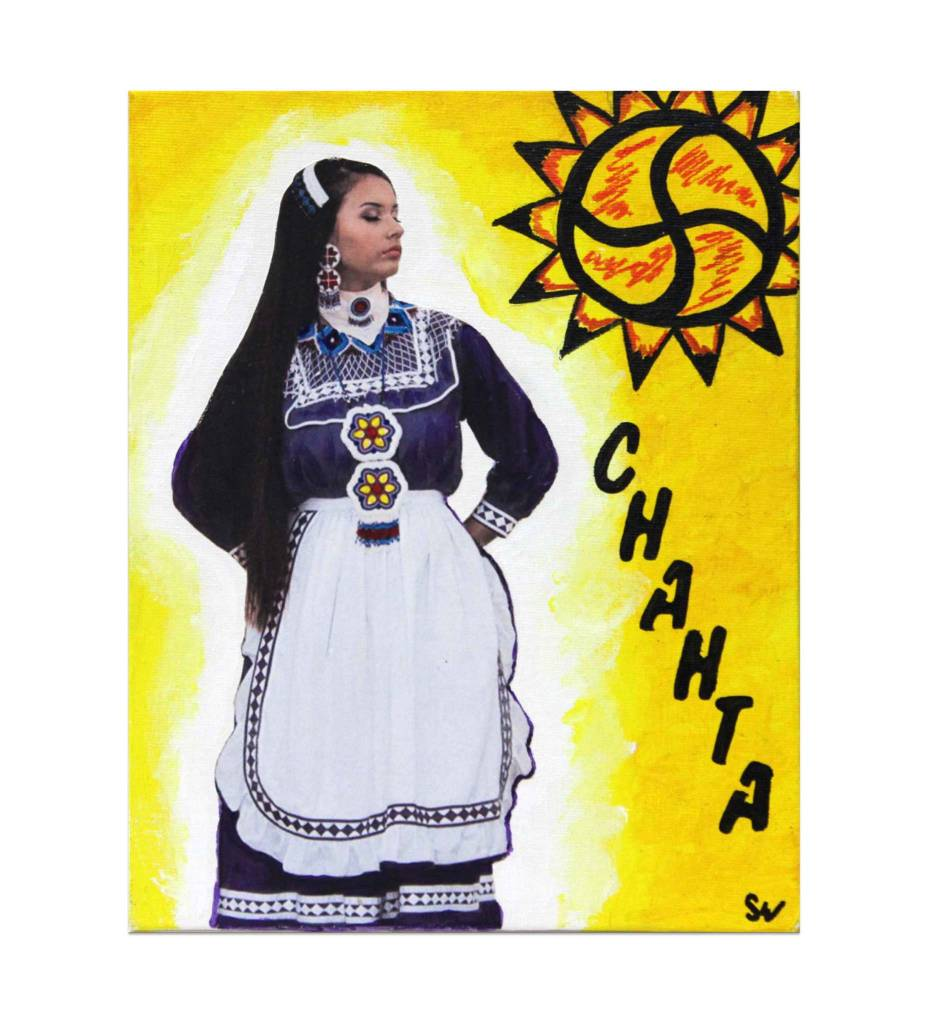 "*SW ""Chahta Ohoyo"" Original Painting"