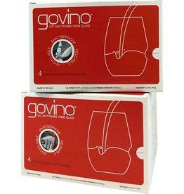 USA Govino 16-oz 4-pack glasses (red label)