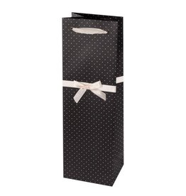 gift bag w tissue BLACK