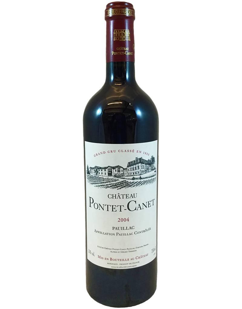 France Ch Pontet-Canet 2004