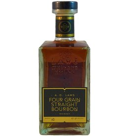 USA A.D. Laws Four Grain Straight Bourbon