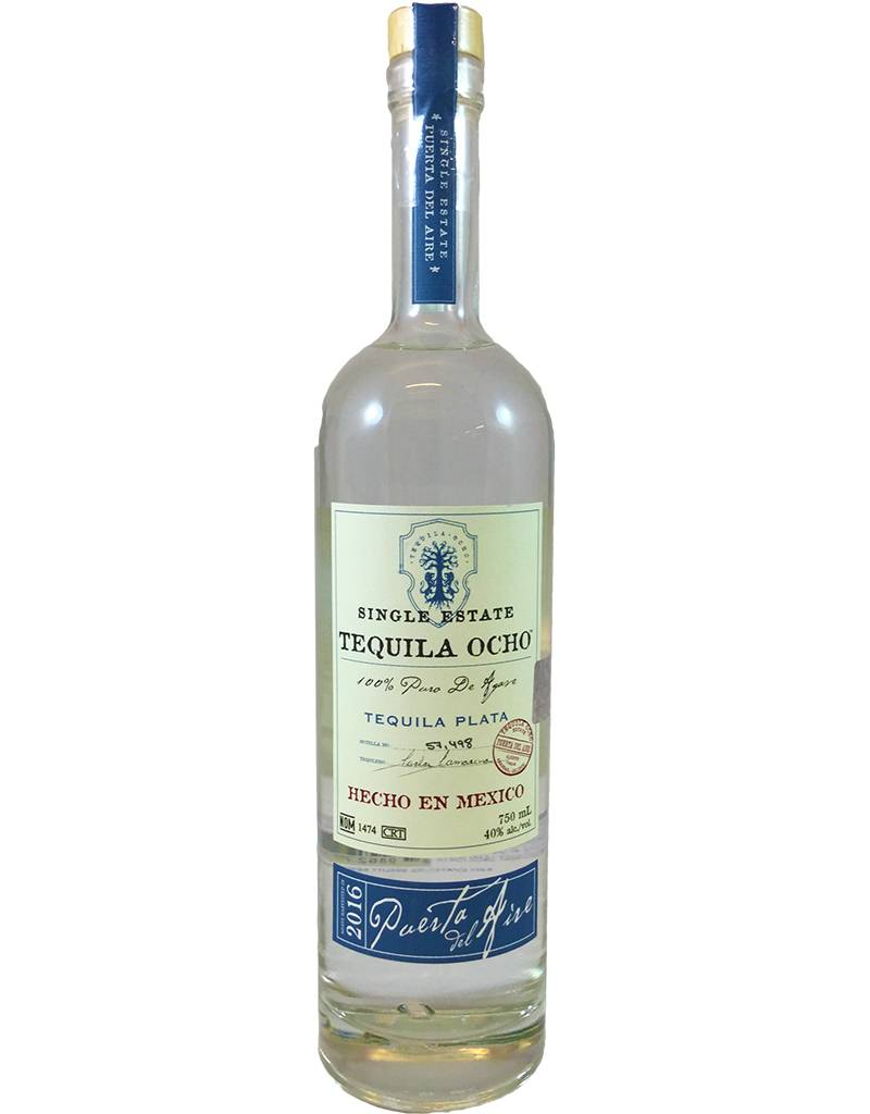 Mexico Tequila Ocho Tequila Plata