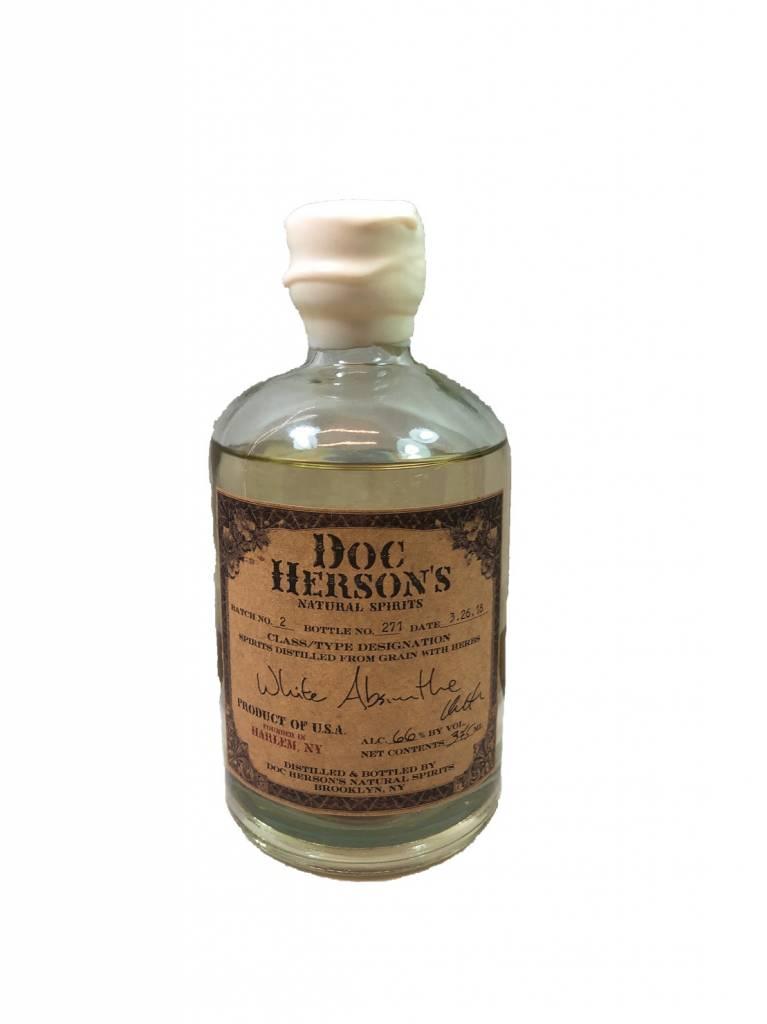 USA Doc Herson's WHITE Absinthe 375ml