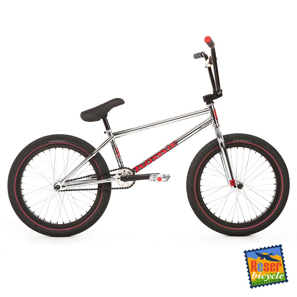 Fit Bike Co. 2018 Fit Mac Chrome BMX 20.75in TT - Reser Bicycle ...