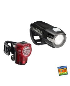 Cygolite Dart 210 Headlight and Hotshot Micro 30 Taillight  Set