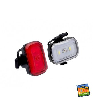 Blackburn Click USB Light Set Black