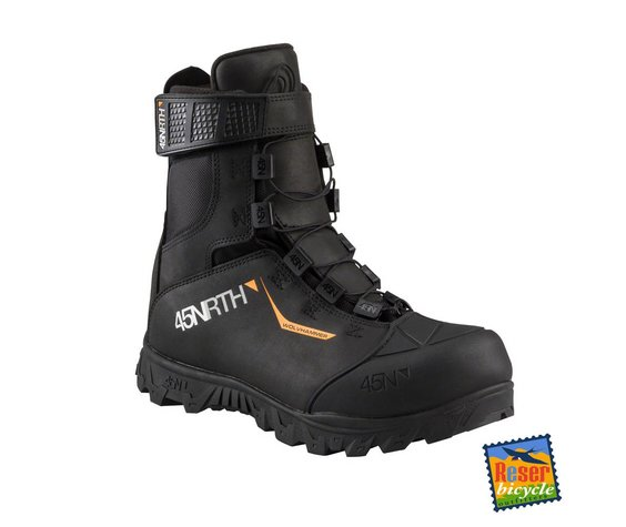 45NRTH 45NRTH Wolvhammer MTN 2-Bolt Cycling Boot Black
