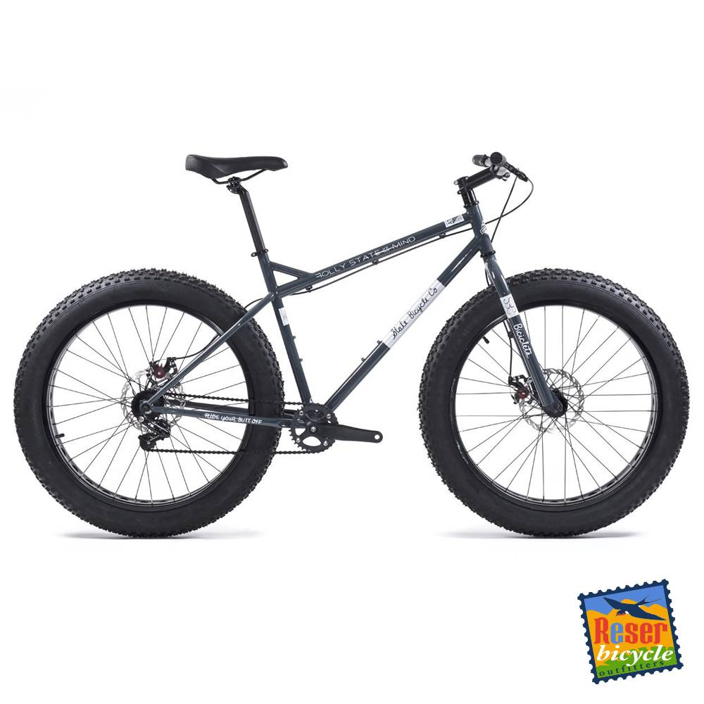 State Offroad Division - Megalith Fat Bike - Gray/White - One Size 49cm / 19.25""