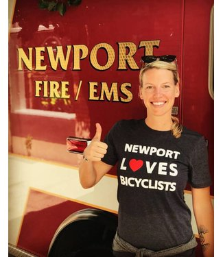 Newport Loves Bicyclists T-Shirt