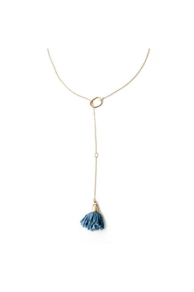EM Jewelry+Design LUCA NECKLACE // INDIGO