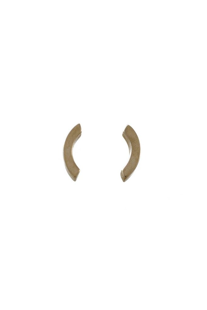 EM Jewelry+Design Olli Studs in Brass