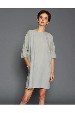 UZINYC Now Dress in Stone