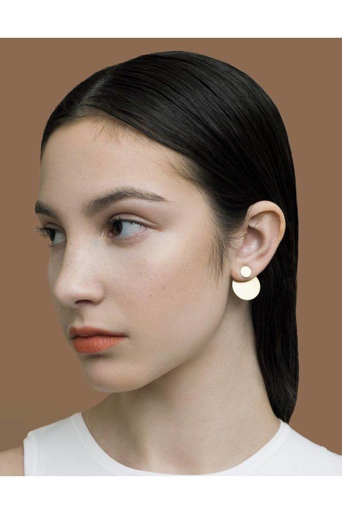 Natalie Joy Circular Ear Jacket