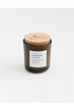 Slow North Lavender + Cedar Soy Candle