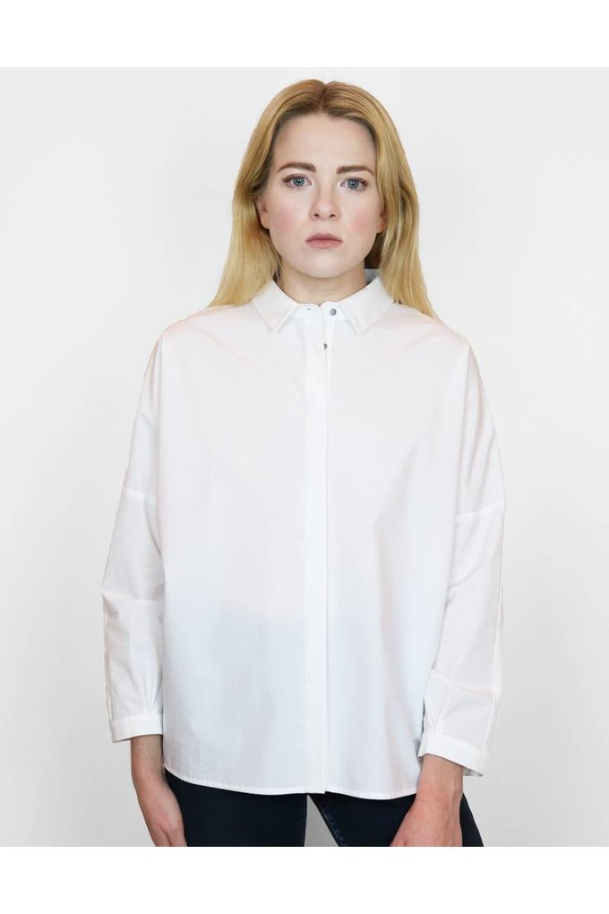 Just Female Kei Shirt in White