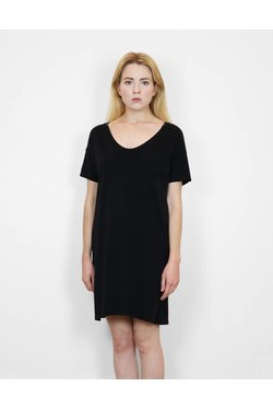 SkarGorn #60 Tee Dress in Black Wash