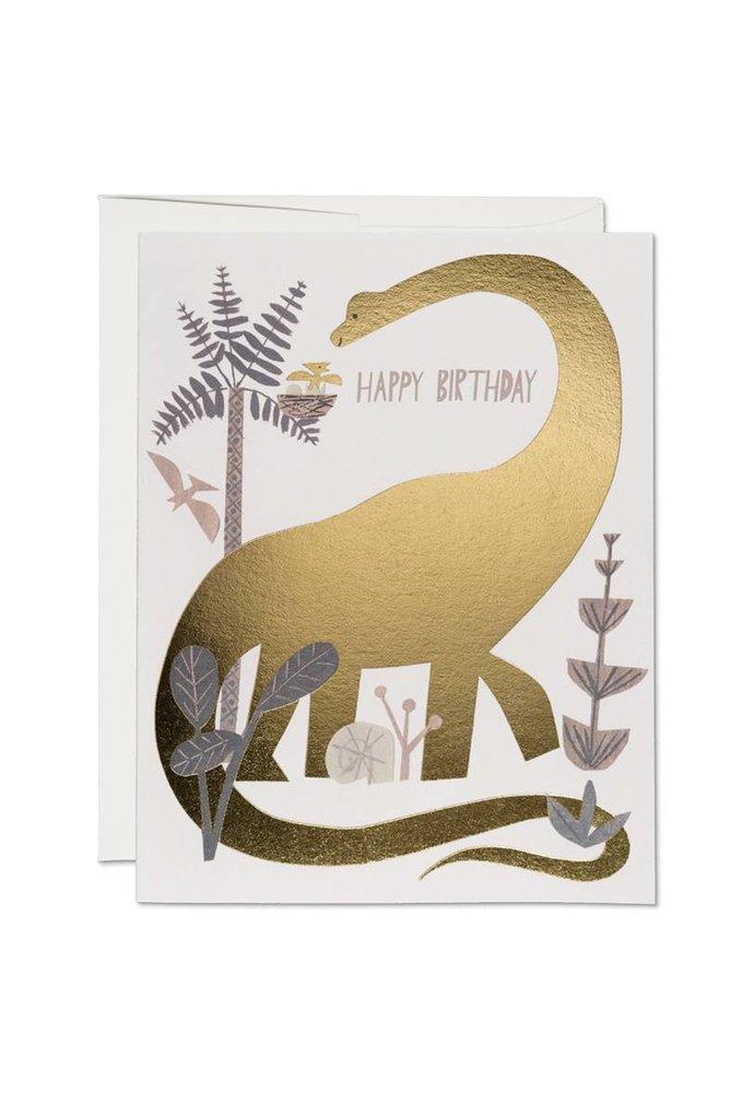 Red Cap Cards Dinosaur Birthday Card