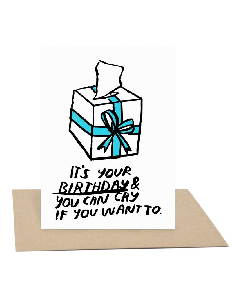 People I've Loved Birthday Cry Card