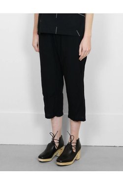 UZINYC Drop Crotch Pant in Black