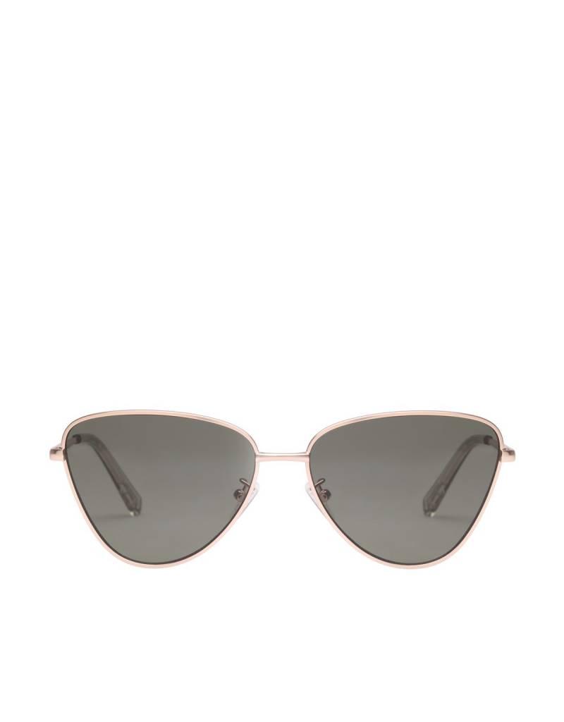 Le Specs Echo Sunglasses in Matte Gold